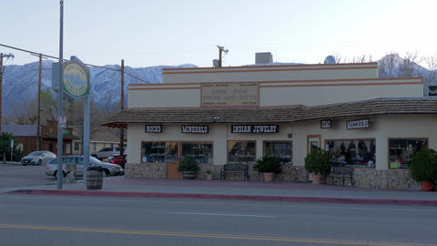 Indian jewelery and gift store in the historic village of Lone Pine - LONE PINE Live Action