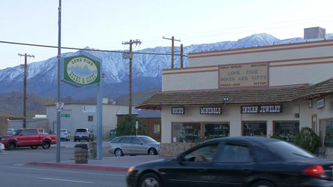Indian jewelery and gift store in the historic village of Lone Pine - LONE PINE Footage