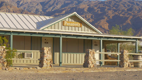 Panamints Motel at Death Valley - BEATTY, USA - MARCH 29, 2019 Live Action