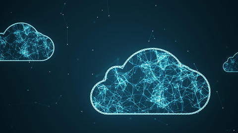 Cloud network2 Animation