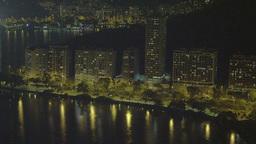 Rio de Janeiro coastline in Brazil Footage