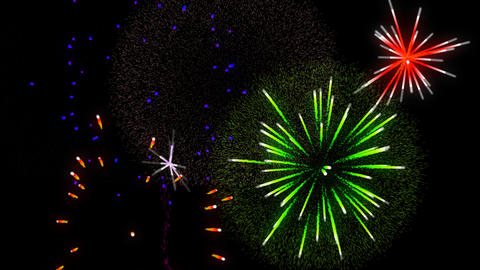 Fireworks transparence background alpha vs4 Animation