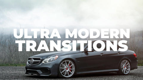 Ultra Modern Transitions Premiere Pro Template