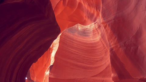Upper Antelope Canyon in Ariziona Live Action