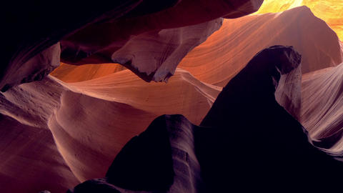 Beautiful Upper Antelope Canyon Live Action