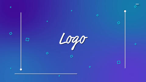 Elegant Lines Logo After Effects Template
