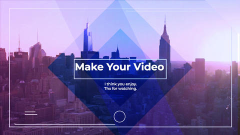 Minimal Corporate Promo Slideshow After Effects Template