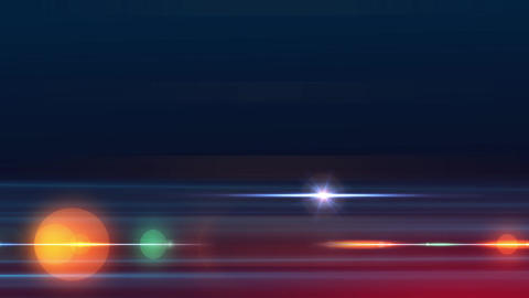 Abstract Line Bokeh Background 03 CG動画