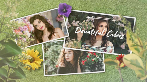 Spring Perfume After Effects Template