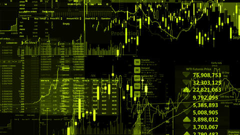 Stock Market Animation