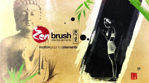 Zen Brush Opener Plantilla de After Effects
