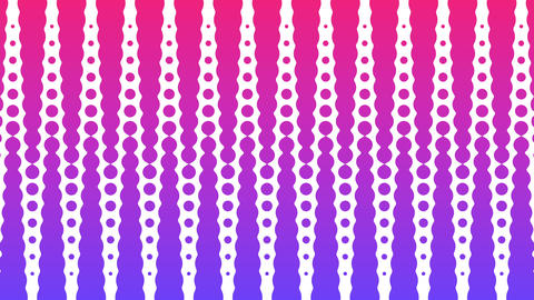 Polka dot pattern animation. Modern geometrical circle. Loop animation Animation