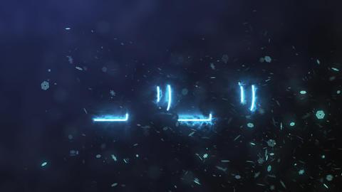 Number 2020 plasma, Stock Animation