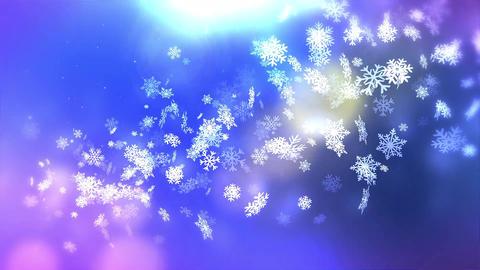 Winter Background 01 Animation