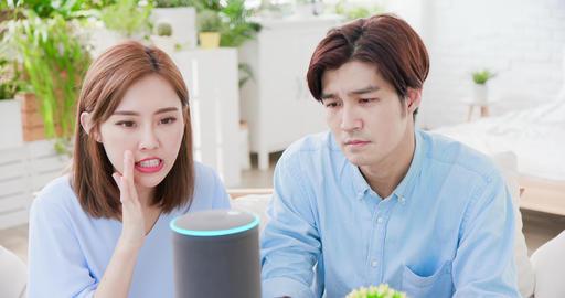 Smart AI speaker Error Live Action