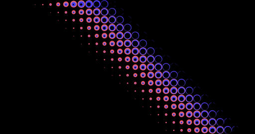 circle transition abstract background Live Action