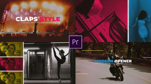Rhythm Intro Premiere Proテンプレート