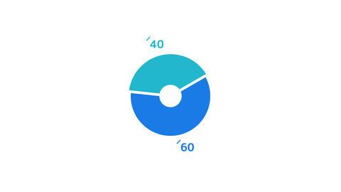 Infographic Element - Pie Chart Animation