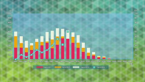 kk Simple Graph モーショングラフィックステンプレート