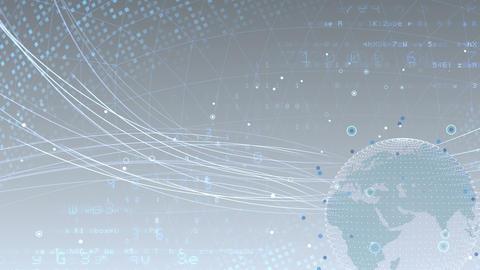 Earth on Digital Network 18 N2Wx 4k Animation