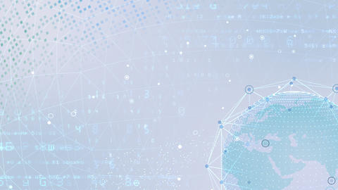 Earth on Digital Network 18 J1Wx 4k Animation