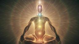 Chakra Activation Meditation through Heart Center Animation
