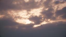 Bright clouds 8 sun Footage