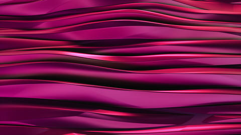 Wavy bands Background reflective pink purple Animation