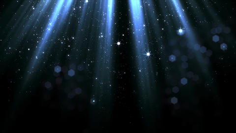 Light and Bokeh Animation