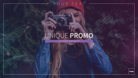 Unique Opener After Effects Template