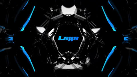 Techologies Tunnel Logo Reveal Premiere Proテンプレート