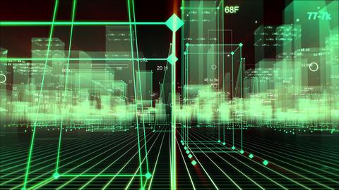 Digital City Animation