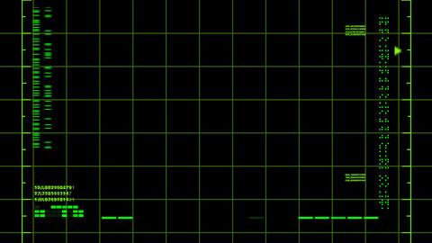 Radar Screen (loop) Footage