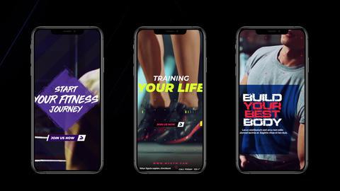 Instagram Stories: Sport pack Plantilla de After Effects