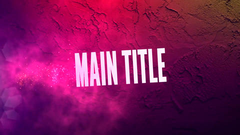 Movie Trailer Titles Motion Graphics Template