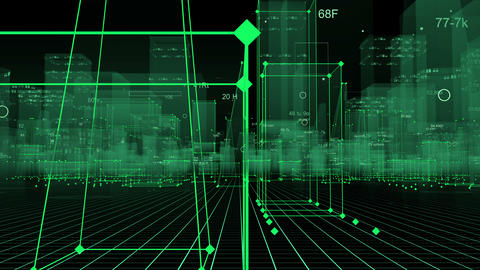 Digital City Animation