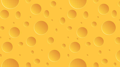 footage motion cheese background. 4K animation Footage