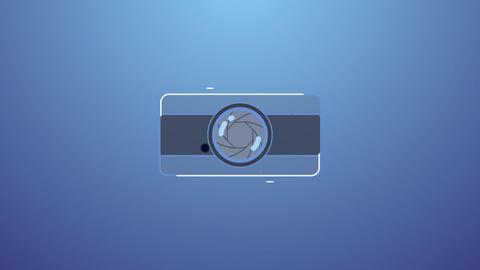 Intro for photographer モーショングラフィックステンプレート