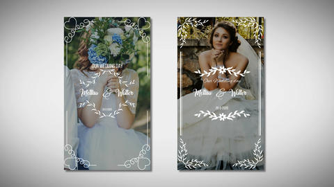 Instagram Wedding Story After Effects Template