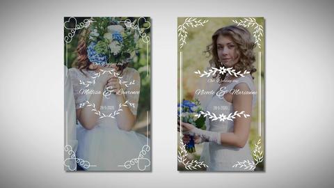 Instagram Wedding Story Premiere Proテンプレート