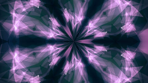 Geometric Kaleidoscope Animation