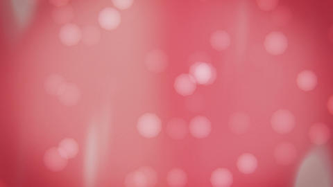 Pink Bokeh Background Animation