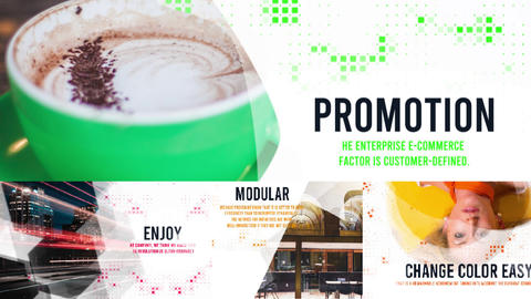 Corporate Modern Opener After Effects Template