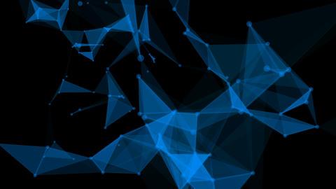 Plexus Blue Style Overlay GIF