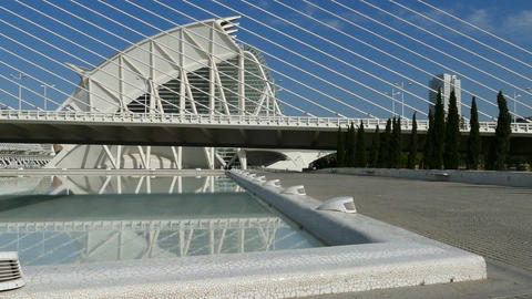 The City of Arts and Sciences, Museum de les Ciencies Principe Felipe Footage