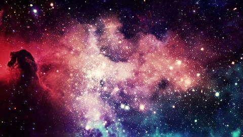 Deep Into the Galaxy Animation