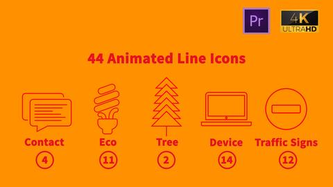 217 Icons Animated