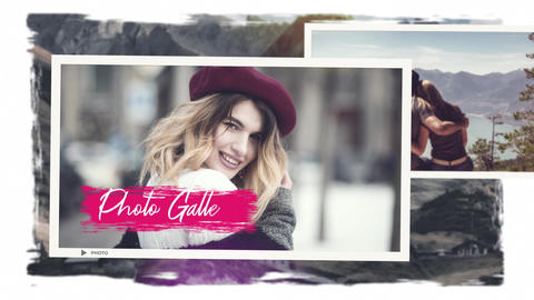 Familly Photo Gallery After Effects Template