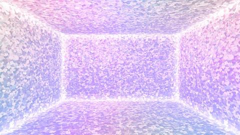 Glitter Room Violet Heart 1 4k Animation