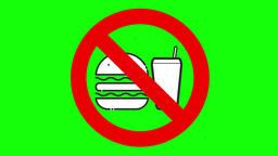 【4K】No eat and drink animation Animation
